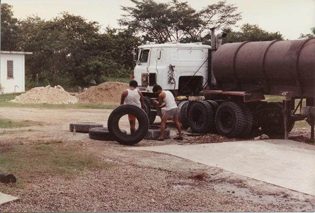 molasses truck belize