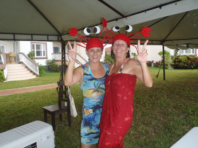 Lobstermania pool party at Grand Caribe