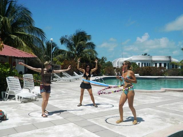 hula hooping in san pedro