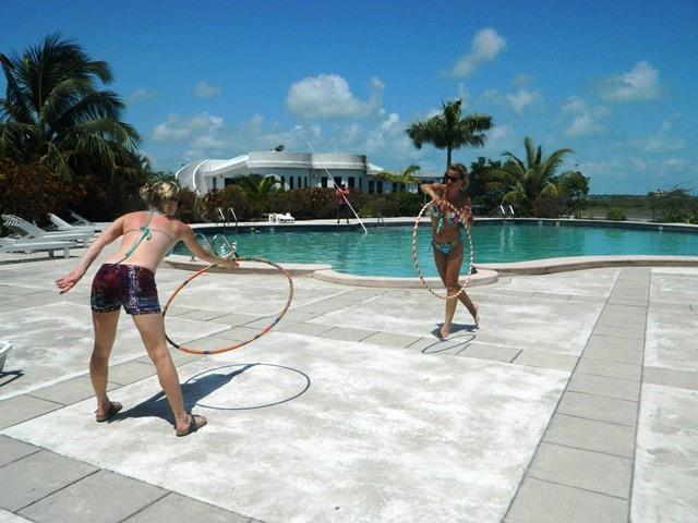 simple hula hoop tricks