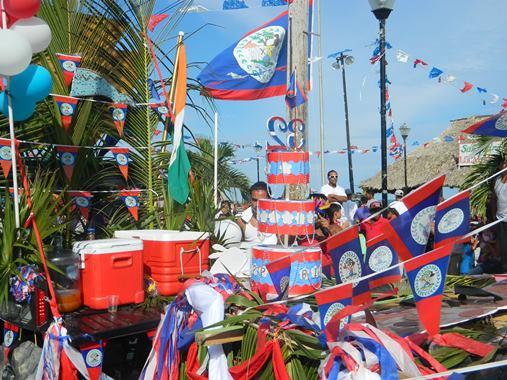september celebrations belize