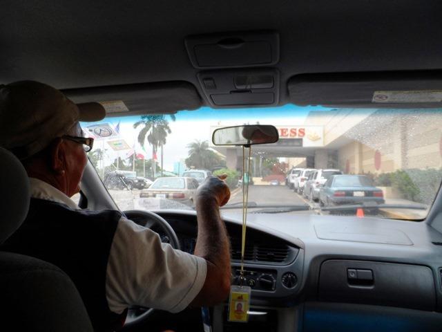belize cab