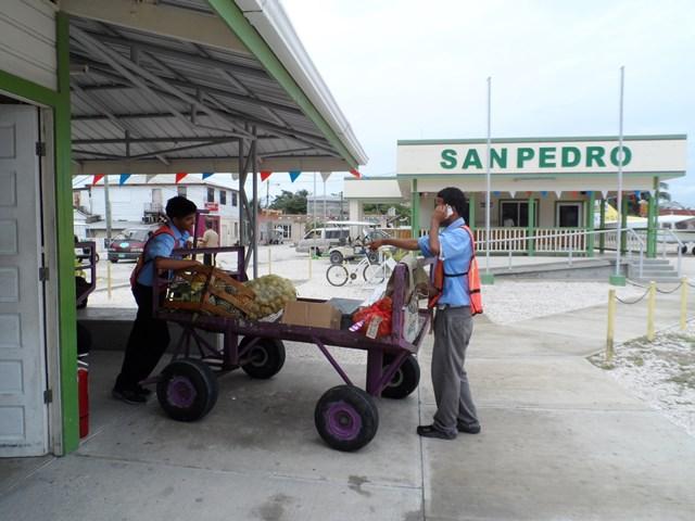 maya air cargo at san pedro airport
