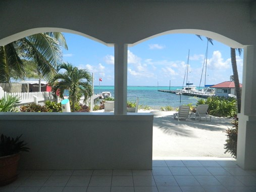 belizean reef beach front condominiums in belize
