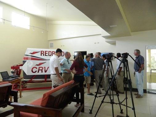 filming the new tropic air cessna grand caravan (208B) advanced aircraft training device