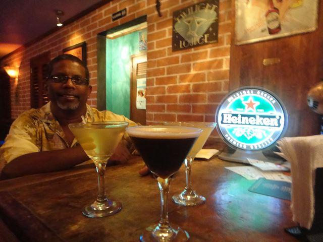 dirty martini bar