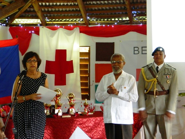 lily bowman director general of the belize red cross