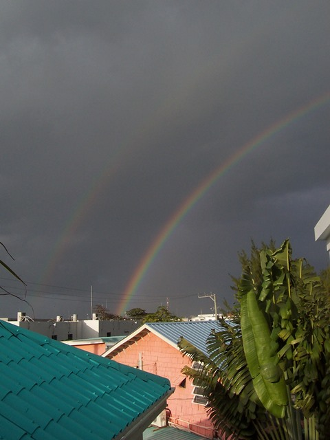 double rainbow belize