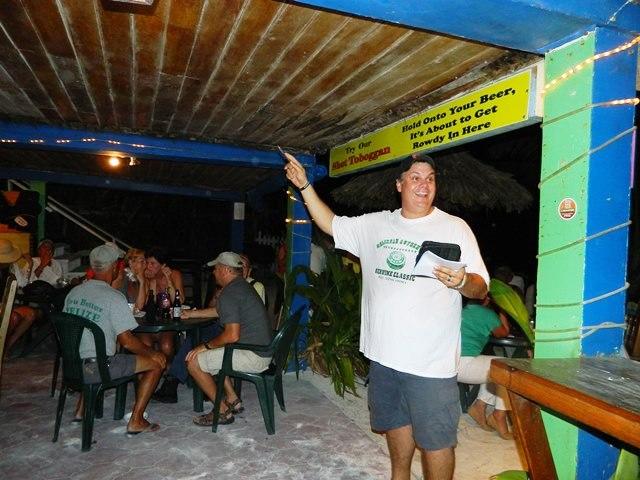 crazy canucks beach bar belize