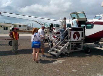 triopic air flight from ambergris caye to belize city