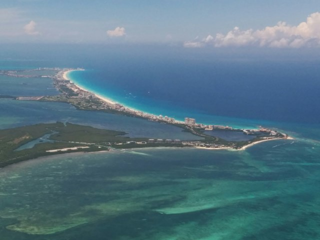 european flights from mexico to belize