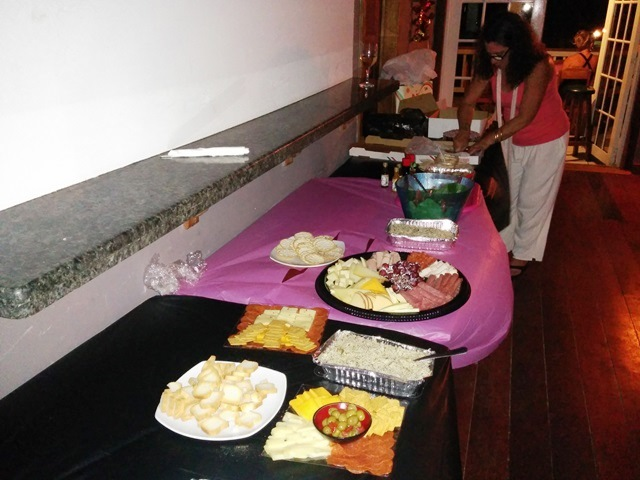 private party at fido's courtyard san pedro belize
