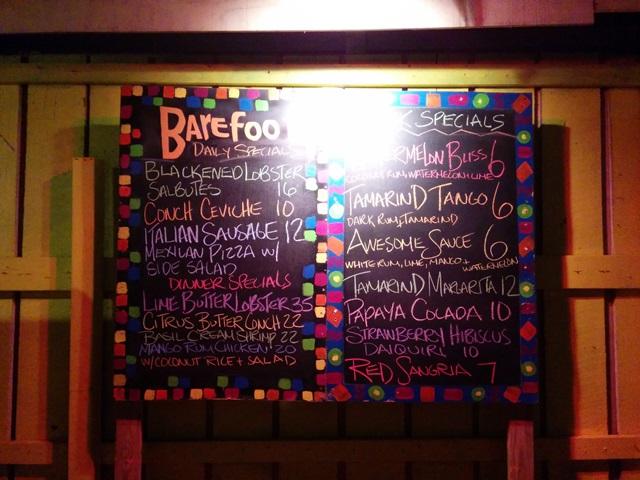 beach bar placencia belize