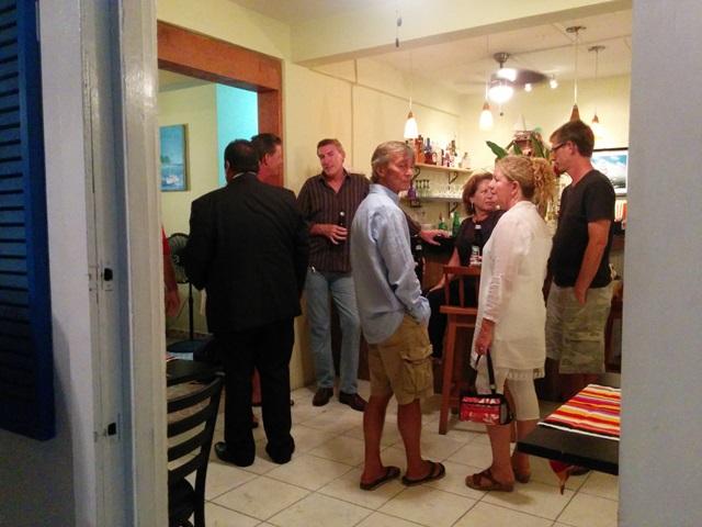 The anual Royal British Legion Belize dinner is always popular