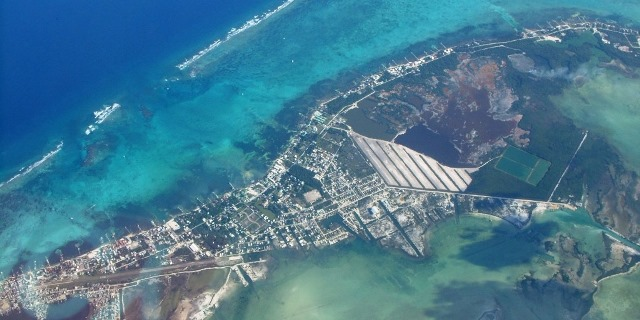belize aerial picture